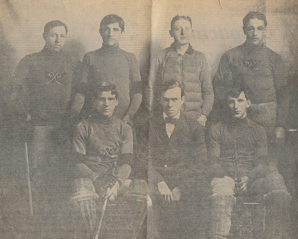 Waterbury, CT. Edward Lewis, second from right, top, was Mark's maternal great-grandfather.